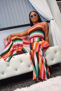 Ebony Flare Jumpsuit