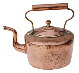 Antique Victorian 19th Century copper kettle