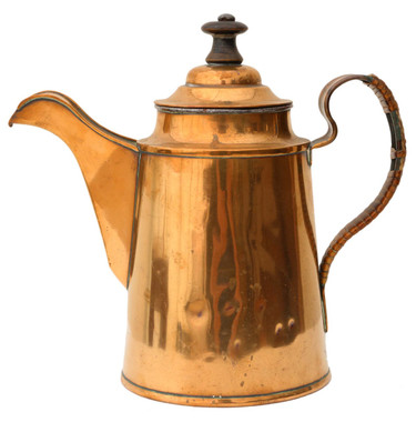 Antique copper tea pot C1940