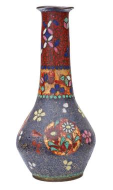 Antique 19th Century Japanese oriental vase cloisonne