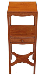 Antique Georgian mahogany C1800 washstand bedside cupboard table cabinet
