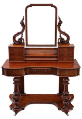 Antique quality Victorian mahogany Duchess dressing table