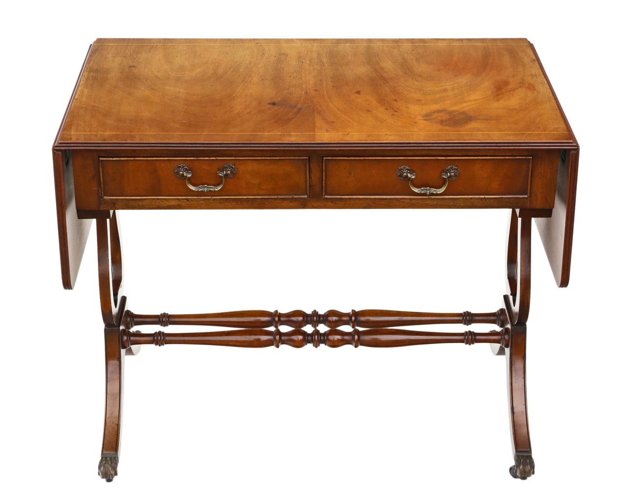 Astonishing Antique Georgian Regency Reproduction Mahogany Sofa Table Andrewgaddart Wooden Chair Designs For Living Room Andrewgaddartcom