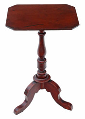 Antique 19th Century Victorian mahogany quality wine table side occasional
