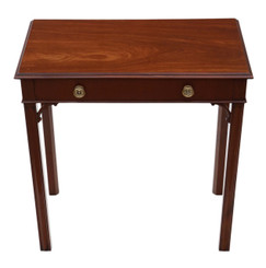 Antique quality Georgian mahogany desk writing side table C1800-1820