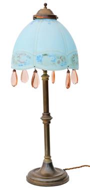 Antique quality large Art Nouveau table lamp C1900-1920