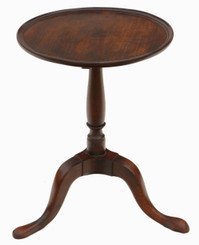 Antique quality Georgian mahogany wine or side table C1800