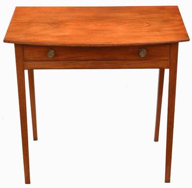 Antique quality Georgian 19th Century mahogany desk writing side table