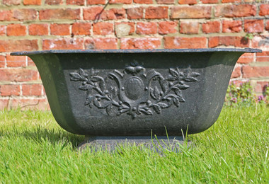Cast iron planter urn Antique style