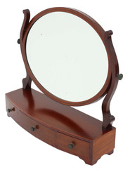 Antique fine quality dressing table swing mirror toilet C1880