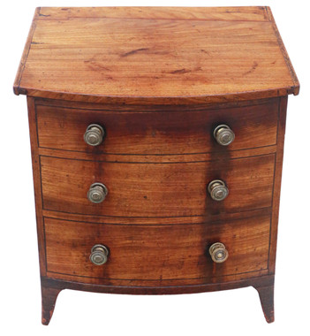 Antique quality Victorian mahogany coal scuttle box or cabinet 19th Century