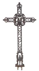Antique quality 19th Century cast iron cross