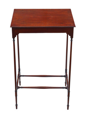 Antique fine quality 19th Century mahogany occasional side table