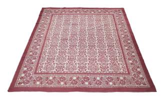 Large quality vintage/retro wool rug Yurt~ 10' x 9' Eastern