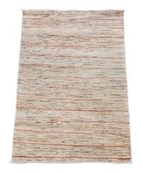 """Vintage/retro wool rug roughly 4'9"""" x 3' Eastern"""
