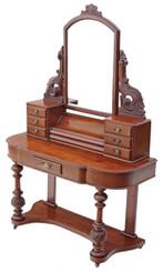 Antique Victorian walnut Duchess dressing table