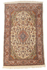 Antique large quality Persian fine weave wool rug Tree of Life ~ 4' x 8'8""