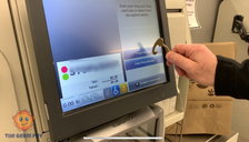 Works on ATM screens