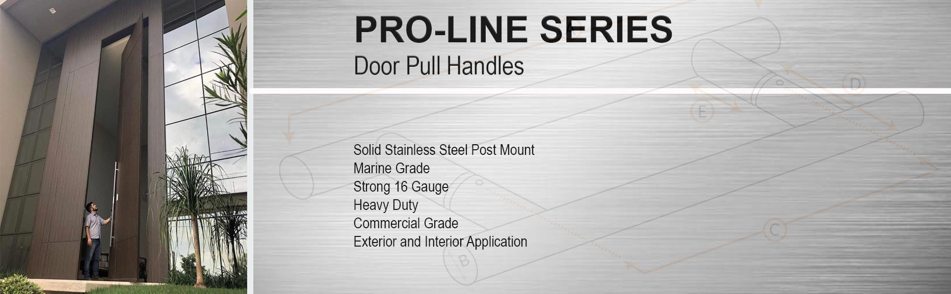 Pro-Line Series Door Pull Handles