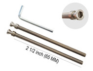 "Pro-Line Series - M8 x 80mm Screws, 2 pack, Stainless Steel, Suitable for 1-1/4"" up to 1-3/4"" thick door"