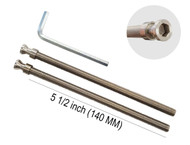 "Pro-Line Series - M8 x 155mm Screws, 2 pack, Stainless Steel, Suitable for 4-1/4"" up to 4-3/4"" thick door"