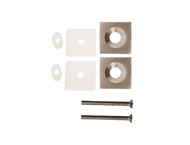 "One-Sided Pull Handle Conversion Kit - Square 1"" x 1"" M8 Countersunk Stainless Steel Thru-Bolt Washers"