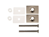 "One-Sided Pull Handle Conversion Kit - Rectangular 1.5"" x 1"" M8 Countersunk Stainless Steel Thru-Bolt Washers"