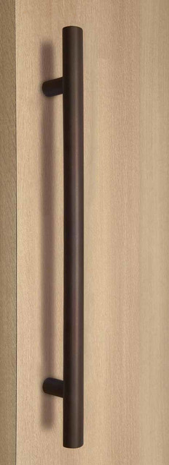 Pro-Line Series: One Sided Ladder Pull Handle, Bronze Powder Coated Finish, 304 Grade Stainless Steel Alloy