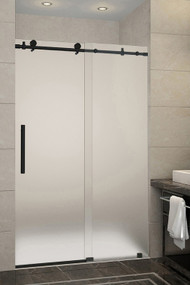 AquaLine IV (Matte Black Powder Stainless Steel Finish) * Glass Door Not Included * on glass door