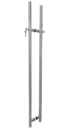 "60"" Lock Pull Handle (With Key) - For Glass Doors"