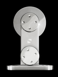 Circa-WT Barn Door Roller - Polished Chrome Finish