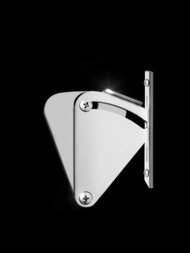 Sliding Barn Door Latch (Polished Finish)