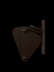 Door LatchSliding Barn Door Latch (Black Powder Finish)