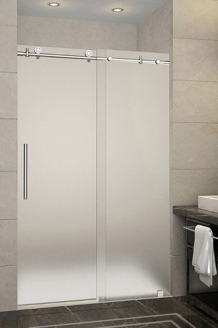 AquaLine IV (Brushed Satin Stainless Steel Finish) * Glass Door Not Included * on glass door