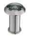 "Top View 200˚ Glass Lens Door Viewer with Cover For Doors 1-3/8"" to 2-1/4"" - Satin Nickel"