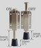 Product On and Off Switch Dimensions