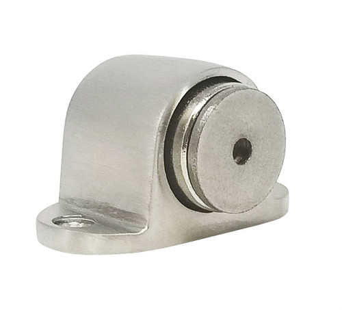Floor-Mounted Magnetic Door Stop (Stainless Steel Brushed Satin Finish)