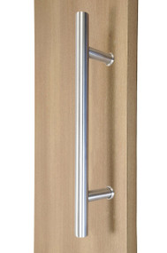 "12"" Ladder Style Back-to-Back Pull Handle,  3/4"" diameter (Brushed Satin Stainless Steel Finish)"