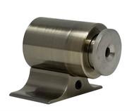 Floor-Mounted Magnetic Door Stop (Brass Bronze Finish)