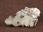 Calcite and Stilbite Mineral Specimen