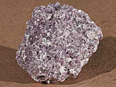 Lepidolite Purple Mineral Specimen