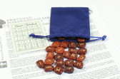 Red Jasper Rune Stone Set With Free Pouch