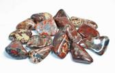 """Tumbled Brecciated Jasper 1/4 Lb Large Stones 1-1.5""""+"""