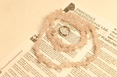 Rose Quartz Necklace Chip Beads Nuggets Long Pink Strand 33 Inch with Clasp