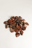 "Brecciated Jasper Tumbled Stones 1/4 Lb Large Stones 1.5-2"""
