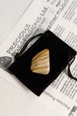 "Yellow Jasper Tumbled Stone Medium Size .90-1.50"" with Bag"