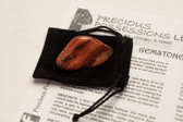 "Rainbow Jasper Tumbled Stone Size Medium 1.25-2"" With Bag"