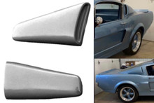 1964-1966 Mustang Fastback Upper Side Scoops-PAIR-BOLT ON (BIG STYLE)