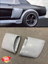 1965-1966 Mustang Coupe/Fastback Lower Resto Side Scoops-PAIR-BOLT ON