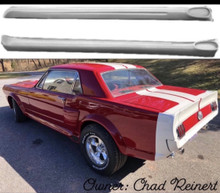 1965 1966 Mustang Coupe/Fastback Fiberglass Side Skirts-PAIR